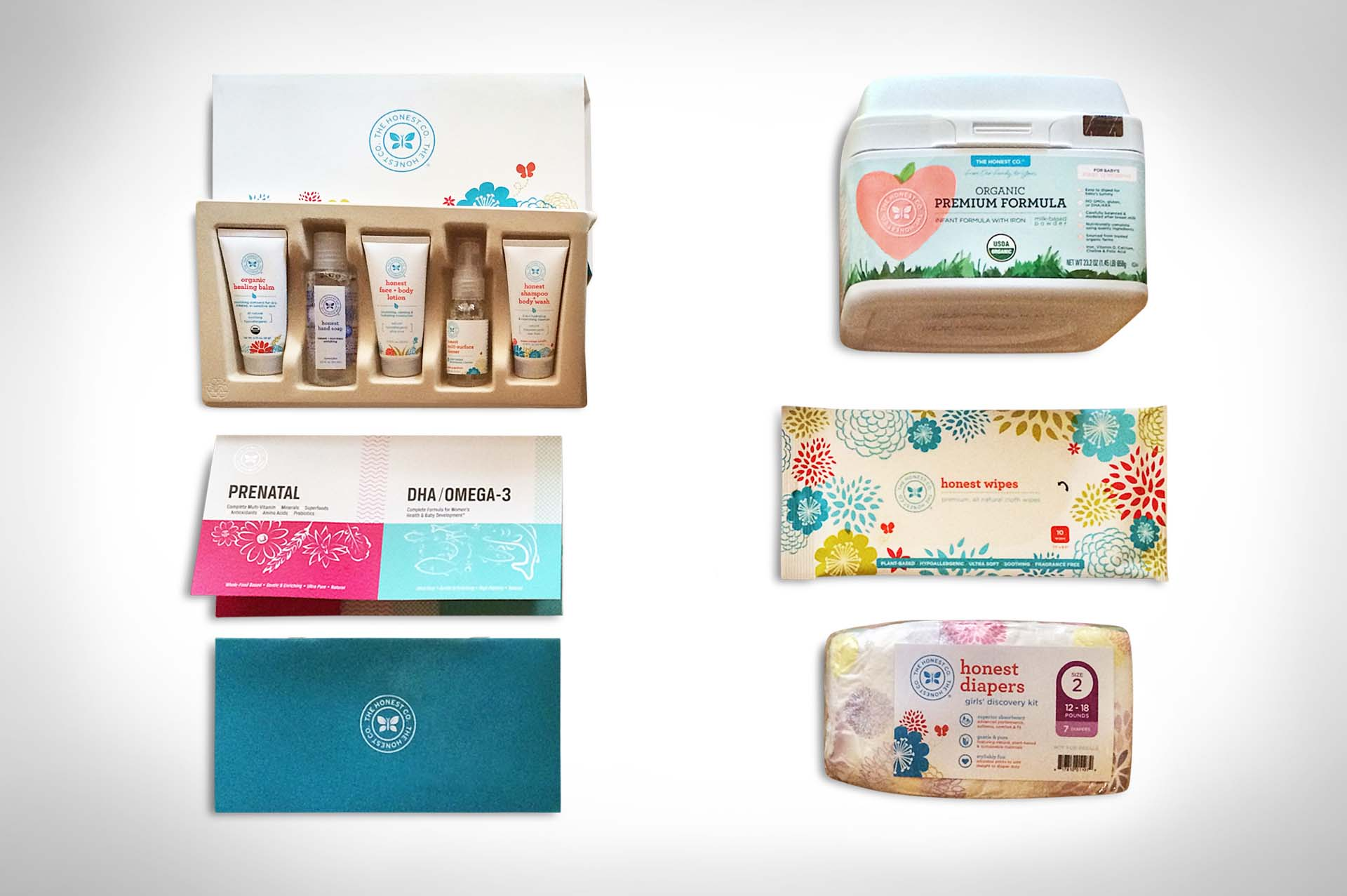 The Honest Company's Free Discovery Kit | BabySamples.com