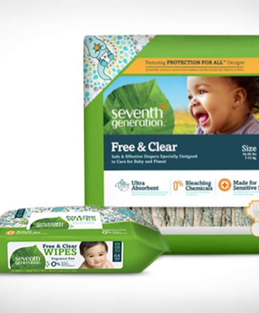 Seventh Generation Diapers and Wipes